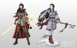 Asian Fantasy Characters by Brett-Neufeld