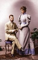 An Engagement in 1894. by TsarinaAlix