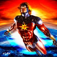 CAPTAIN MAR-VELL by isikol