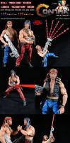 Custom Contra Mad Dog and Scorpion Action Figures by MintConditionStudios