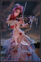 Emilie Autumn :The Original: by art-in-black