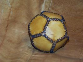 2nd leather ball attempt a by MerrillsLeather