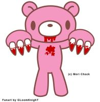 Gloomy Bear Vector by gloomknight