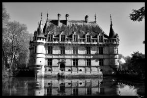 Castle Azay le Rideau by MJ-Ach