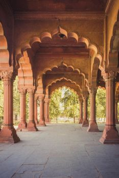 Mughal architecure in Delhi, India by imda12die4
