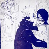 Boruto and Sarada Secret love?! by ambarnarutofrek1
