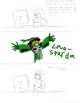 Tablets and GIMP still don't go together. by Saronicle