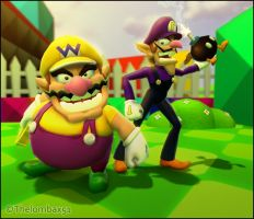 GM - Wario Brothers by RatchetMario