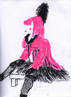 Pink Lady by TheSpazOutLoud