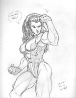 Tues 5: She-Hulk by genekelly