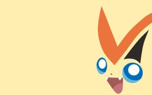 Victini Wallpaper by Banana-Bear