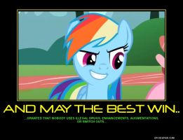May The Best Win Poster by Overlordflinx