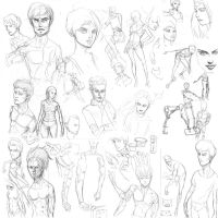 Sketch dump 2014 5 part 2 by Vimes-DA