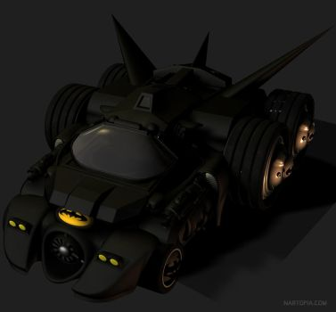 Batmobile by blackzig