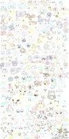 Every Pokemon in the Universe. by PikaPika27