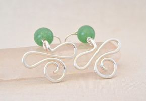 Grassy Path by BlackBlossomJewelry