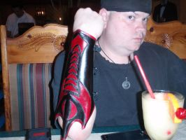 Slicer bracer Client Shot by Red-Dragon-Lord