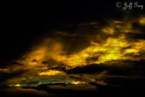Project 365 - 269 - Fire In The Sky by jguy1964