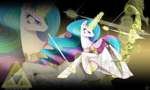 Princess Zelestia of the Hyrule Kingdom by CiscoQL