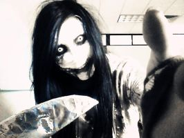 Jeff the killer cosplay ...Come with me... by DianaHorror