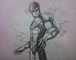 Flash 5 minutes sketch by papabear7