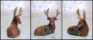 :.Stag and Labradorite.: by XPantherArtX
