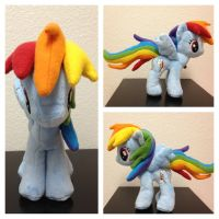 Minky Rainbow Dash Plush by Aleeart7
