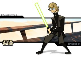 Luke en force by Ancestral-Z