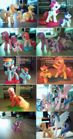 MLP Figurine collection by TenshiHoshino
