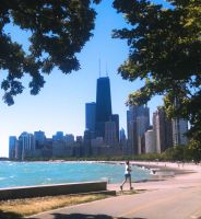 A Chicago Summer on the Path by RaCzarina
