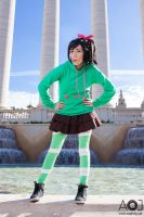 Vanellope -  What's that? Didn't hear you! by NunnallyLol