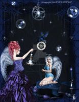 The Solstice and Yule Angels by pixievamp