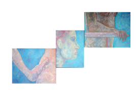 Three Panel Nude Study by Senshisoldier