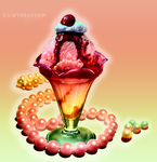 Ice cream and pearls by AilwynRaydom