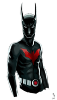 Batman Beyond by sympathized