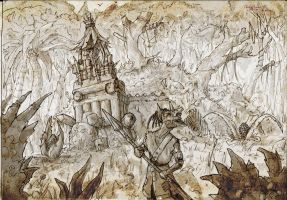 goblin lair outside by headconc