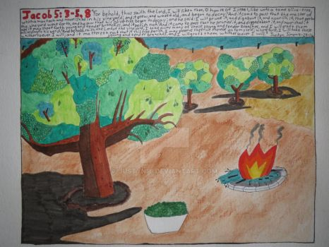 Parable of the Olive Tree by Justyn16