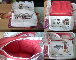 Selfmade Kingdom Hearts Bag - SOLD by Yuseichan