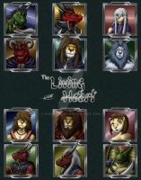 The Living Heart Icon Characters by SymbolHero