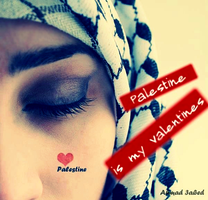 Palestine is My Valentine by Quadraro