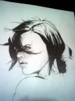 Aeon Flux WIP by ChildOfDumas