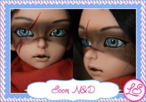 Soom ND Face Up Example by SyrynValentyne
