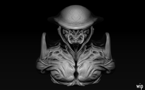 ZBrush Daily Sculpt 2 wip by Eowynu