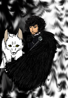You Know Nothing, Jon Snow. by FrostySheeps