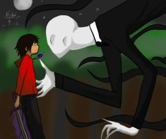 slender fan art by TheUndeadArtist