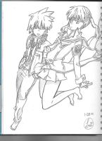 Soul And Maka-SPARTOI by SoulEaterLover123123