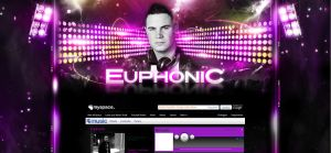 Euphonic Myspace Layout by homeaffairs