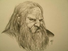 Dwarf, Portrait by FrostieFilly