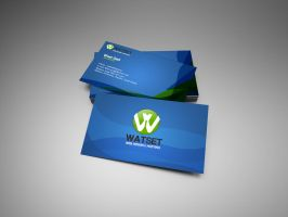 WATSET-business-card by GadART