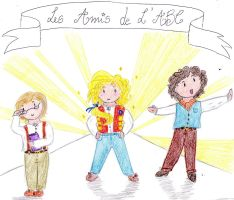 Les Miserables - Les Amis De L'ABC: Triumvirate by MrsLovett22